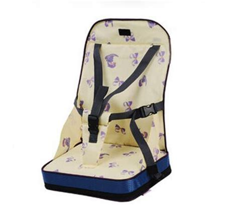 portable high chair seat 4 colors fashion portable booster seats baby safty chair