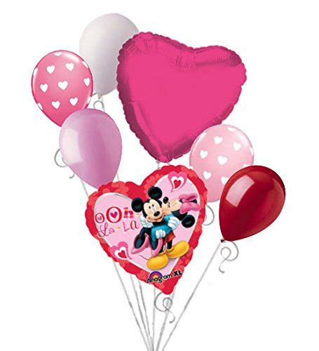 minnie mouse valentines valentines day mickey minnie mouse balloons s