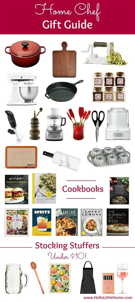 top gifts for a foodie family home chef gift guide