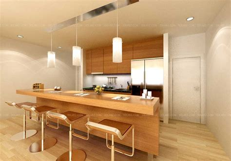 Www Kitchen Interior Design Photo Kitchen Interior 3d Rendering Views Kitchen 3d Images