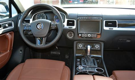 volkswagen touareg interior vw touareg is a solid suv for families wheels ca