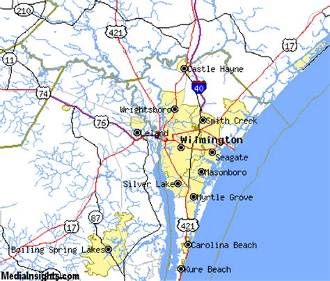 wilmington nc map 31 wilmington carolina map swimnova