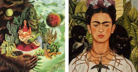 imagenes de obras historicas conoce 8 alucinantes pinturas y frases de frida kahlo la