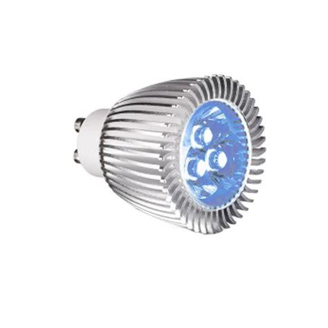 240v led lighting lighting 240v gu10 1 2w led l blue at uk