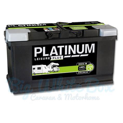 Battery L by Platinum Leisure Plus Battery Lb6110l 100ah Big White Box
