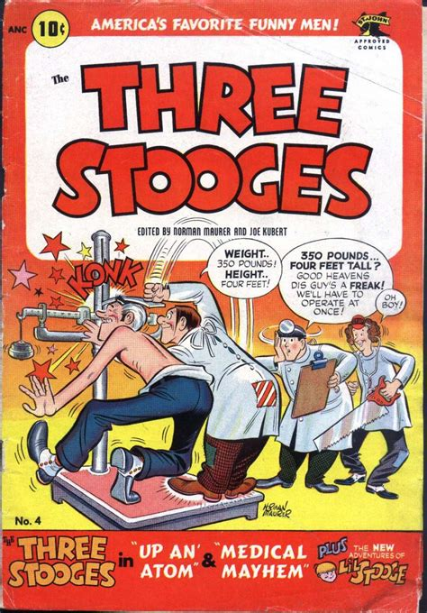 all three stooges books three stooges 4 st comic book plus
