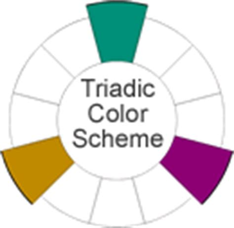 triadic color scheme how many colours should you use cirencester college