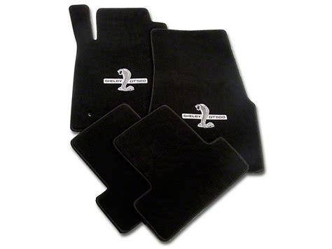 lloyd black shelby mustang gt500 snake floor mats 112051