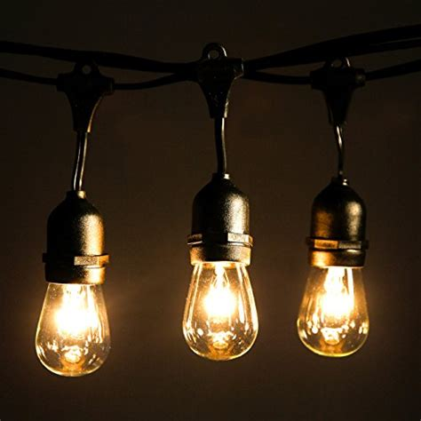 Industrial Outdoor String Lights Outdoor String Lights With 10 Dropped Sockets Shine Hai Import It All
