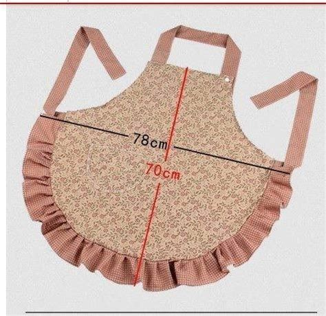 apron pattern dimensions apron size sewing room pinterest