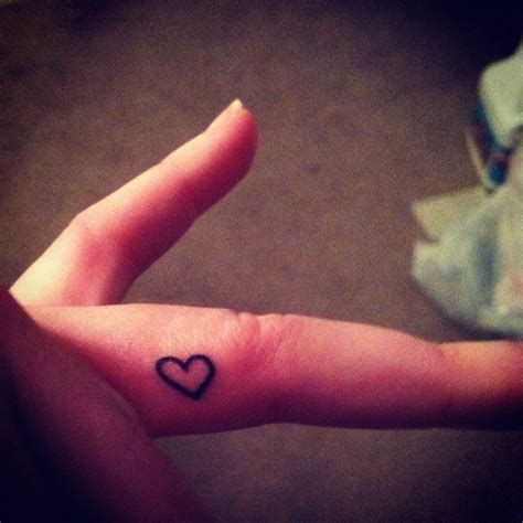 heartbeat tattoo on finger 30 best heart shaped finger tattoos images on pinterest