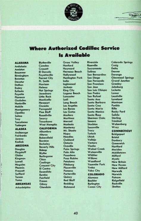 cadillac owners manuals 1953 cadillac owners manual