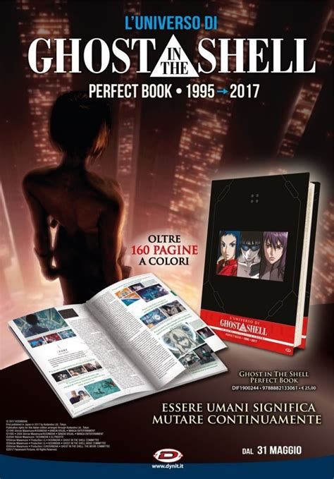 libro ghost in the shell ghost in the shell perfect book 1995 2017 dynit ne annuncia l uscita e le caratteristiche