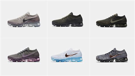 cheap nike air vapormax flyknit 2017 collection college navy