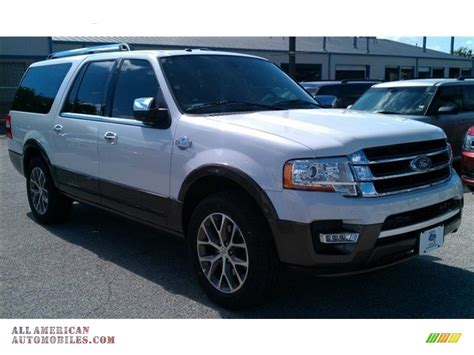 ford expedition king ranch 2015 ford expedition el king ranch in white platinum