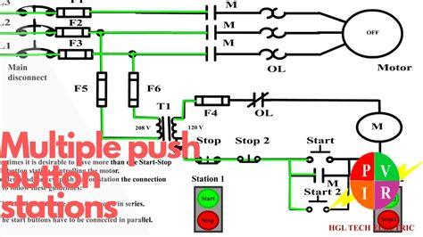 start stop button wiring diagram wiring diagram