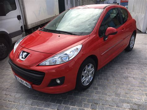 peugeot makes peugeot 207 1 4 hdi french reg