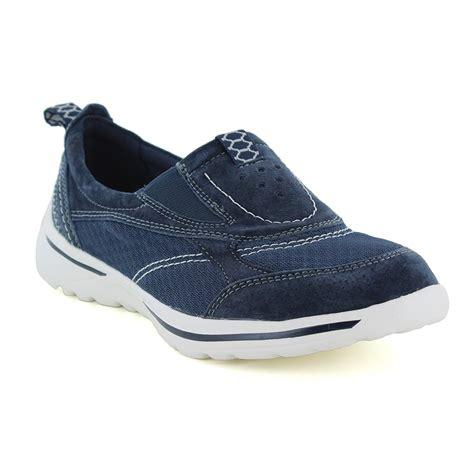 womens navy sneakers earth spirit baltimore womens slip on walking shoes navy