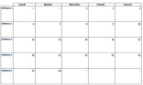 calendario 2016 mensile plan calendario della formazione