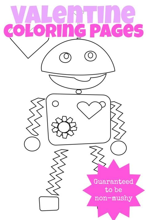 valentines day coloring pages education com 17 best images about valentine s day on pinterest