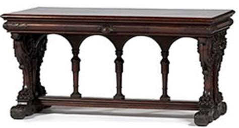 Bob Mitchell Furniture by Furniture Table Library Renaissance Revival