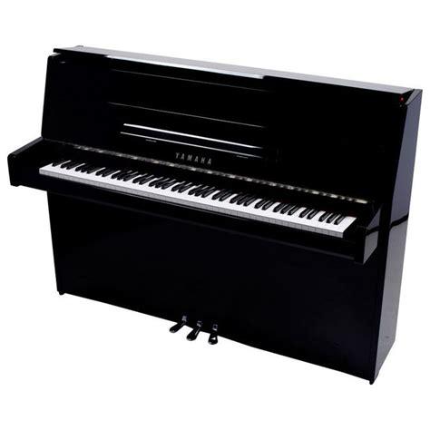 Black B1 yamaha b1 upright acoustic piano black polyester chrome