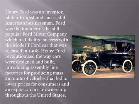 henry ford biography henry ford biography