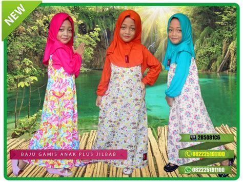 Baju Gamis Katun Anak Plus Jilbab 52 best baju gamis anak oka oke bahan kaos images on