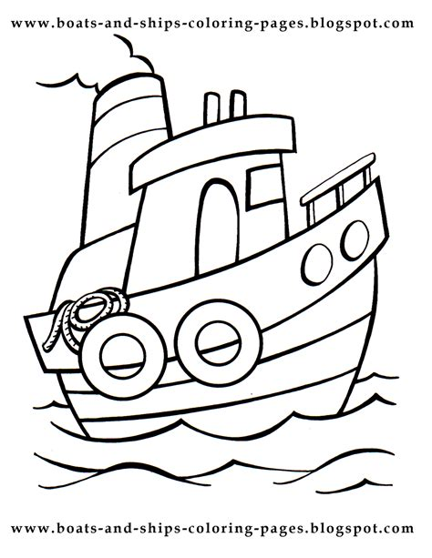 Boats And Ships Coloring Pages Ships Coloring Pages