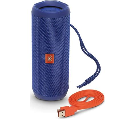 Speaker Jbl Flip 1 buy jbl flip 4 portable bluetooth wireless speaker blue