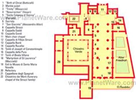 top rated floor plans map of florence duomo santa maria del fiore planetware