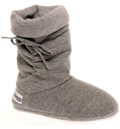 womans slipper boots grosby hoodie womens slippers boots ugg indoor