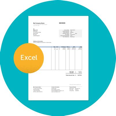 free invoice template uk use online or download excel word