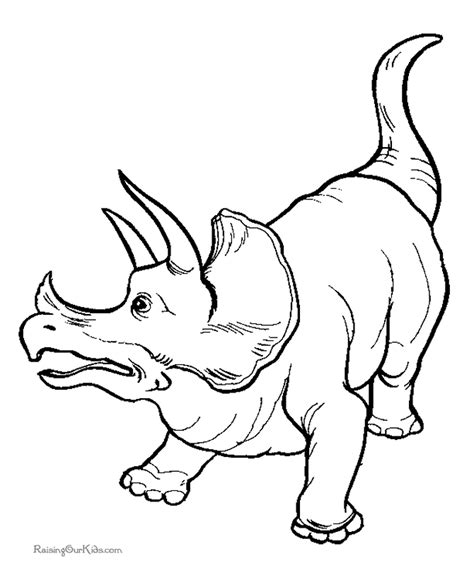 T Rex Pictures To Color   Kids Coloring