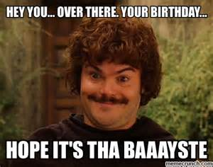 Bday Meme - nachol libre birthday