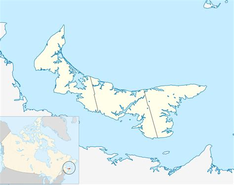 prince edward island map of canada pei canada map