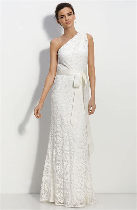 One Shoulder Wedding Dress bridal dresses uk add your charm with one shoulder