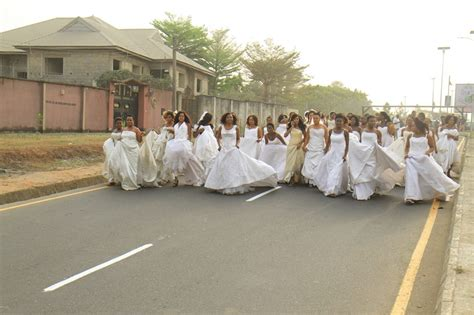 film 2017 owerri quot the choice quot 40 brides take over the streets of owerri