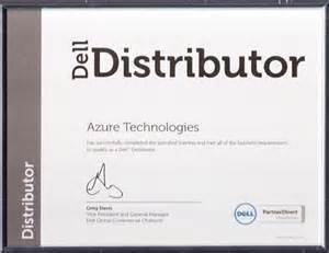 Certification Letter For Dealership Azure Technologies