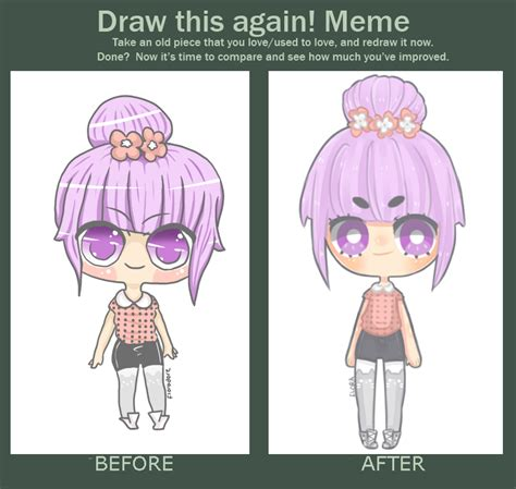 Draw This Again Meme - draw again meme by floradore on deviantart