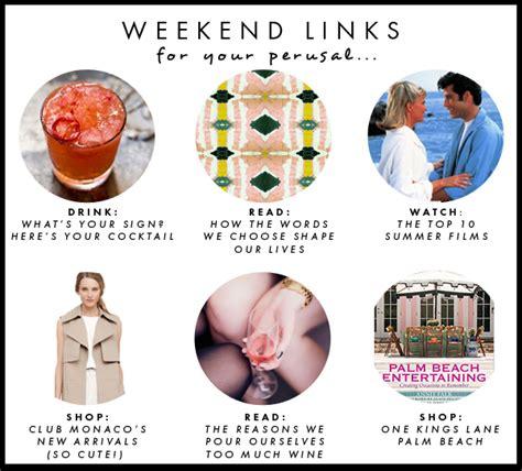 Weekend Links Egotastic 3 by Hapy Weekend Links Luella June