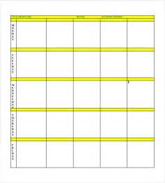blank lesson plan templates free blank lesson plan templates plan template