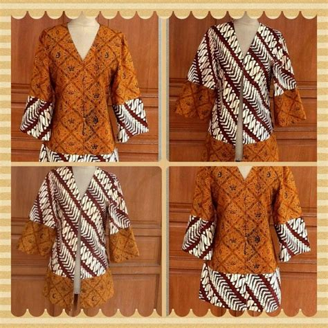 Blouse Sogan 2 by Blouse Batik Sogan Batik And Kebaya Indonesia