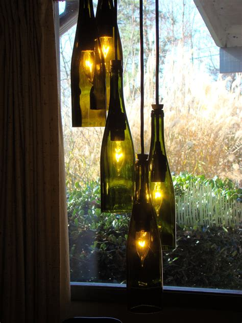 Wine Bottle Chandelier By Glow828 On Etsy Wine Bottle Chandeliers