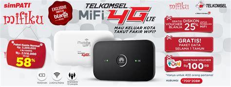 Modem Telkom Flash Wifi harga dan spesifikasi mifi 4g telkomsel