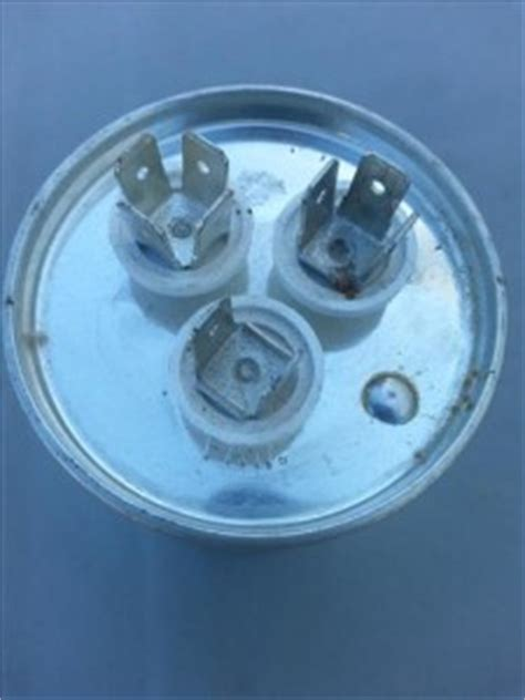 bad capacitor or fan motor how to replace a condenser fan motor on a hvac refrigeration unit heat air conditioner