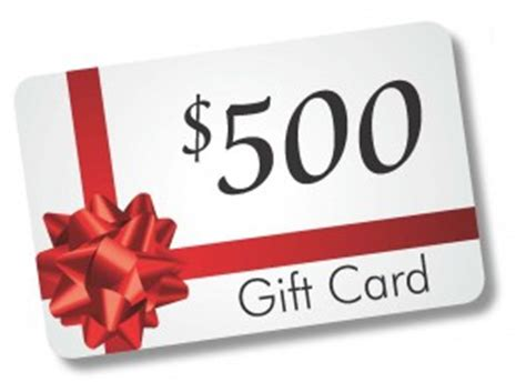 500 Gift Card - cad 1st franklin financial corporation