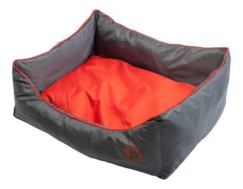 waterproof pet bed petface waterproof oxford pet bed puppy dog luxury oval or