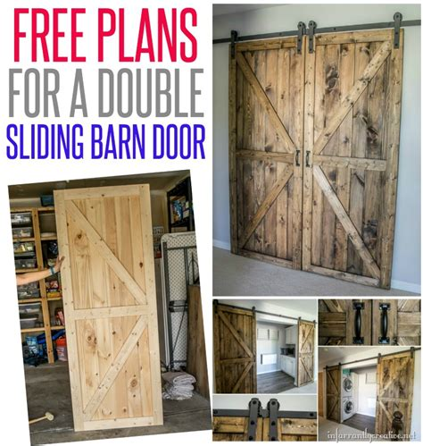 Diy Sliding Barn Door Plans Diy Sliding Barn Doors Reclaimed Wood Infarrantlycreative