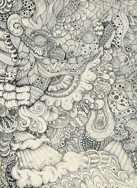 doodle guide chaos awesome zentangle ideas awesome